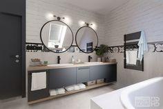 Projektant wnętrz – Bielsko, Wadowice, Katowice, Kraków Dom, Mirror, Bathroom, House, Furniture, Home Decor, Washroom, Decoration Home, Room Decor