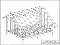 Adirondack Shelter Plans (All Drawings)