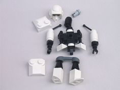 Robot Lego, Lego Stormtrooper, Lego Mechs, Lego Bionicle, Lego Hand, Lego Star Wars Mini, Lego Custom Minifigures, Cuadros Star Wars, Lego Machines