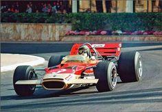1970 Jochen Rindt, Gold Leaf Team Lotus, Lotus 49E Ford