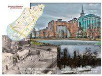 это постер со старыми фотографиями района Хамовники. Идея Е.Торопова, реализация идеи тоже Е.Т.