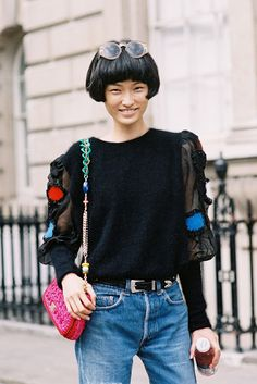 Vanessa Jackman. London Street Fashion