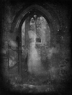 Wrapped in white: 13 tales of spectres, ghosts, and spirits. Ghost Images, Ghost Pictures, Real Haunted Houses, Haunted Places, Creepy, Scary, The Woman In White, Paranormal Photos, Real Ghosts