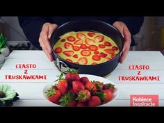 Puszyste ciasto z truskawkami - PROSTE I SZYBKIE