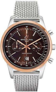 Men watches Watches men Breitling Transocean Chronograph 38 U4131012/Q600-171A