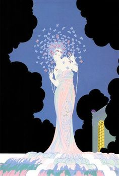 Erte was a French designer and artist who helped lead the Art Deco movement.