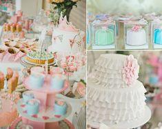 Vintage Princess 4th Birthday Party via Kara's Party Ideas karaspartyideas.com #vintage #princess #birthday #party #ideas
