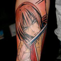 On instagram by officialgeektattoo #gameboy #microhobbit (o) http://ift.tt/1UIHvwN us!! I'm so excited! Rurouni Kenshin is my favorite anime of all time!! Rurouni Kenshin es mi anime favorito de todos los tiempos!  If you know the name of the artist please tag. Si saben el nombre del artista porfavor decirlo.  TAGS  #AmiJames #TatuBaby #Tattoo #Tatoo #Tatu #Tatuaje #l4l #f4f #Tattooed #Tattoos #BlackAndWhiteTattoo #InkMaster #Ink #ColorTattoo #GeometricTattoo #OldSchoolTattoo…