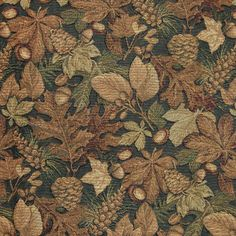 Forest tapestry fabric