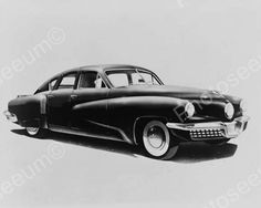 Tucker Car 1948 Vintage 8x10 Reprint Of Old Photo