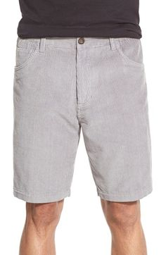 Jack O'Neill 'Chord' Corduroy Walk Shorts available at #Nordstrom