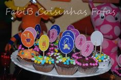 Backyardigans cupcake topper | fabi_b: Cupcakes Backyardigans