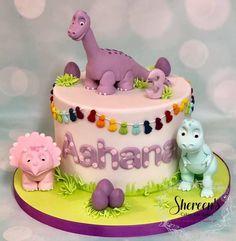 T Rex Cake, Dino Cake, Dinosaur Cake, Dinosaur Party, Elmo Party, Mickey Party, Party Party, Girl Dinosaur Birthday, Baby Birthday Cakes