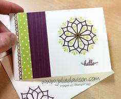 Stampin\' Up! Eastern Beauty Note Card ~ Eastern Palace Starter Bundle ~ www.juliedavison.com