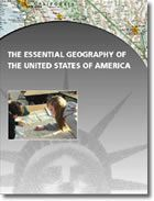 USA: The Essential Geography of the United States of America. Okay, this isn't a book, but it is an award-winning map that is beautifully and intelligently designed to convey an impressive amount of information about the United States. (Laminated/unrolled versions are available, but the least expensive folded version is great for study and use.)