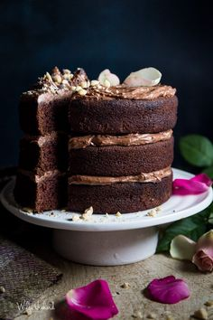Double Chocolate Nutella Cake   Wilde Orchard  This cake is simple and quick to make and is drool worthy. http://www.wildeorchard.co.uk