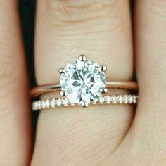 How to Pair Engagement Rings With Wedding Rings - Cape ...