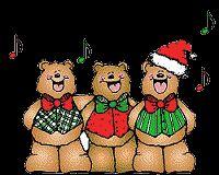 ZANGERS, kerstanimaties en kerstplaatjes bij Kerst bij Annemiek