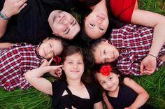 A family pose