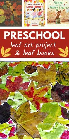 This is a very easy fall art project for preschoolers that uses fall leaves and liquid watercolor. Read picture books about leaves and do this process art project that kids of all ages can complete. Preschool Activities At Home, Preschool Art Projects, Fall Art Projects, Autumn Activities For Kids, Fall Preschool, Preschool Worksheets, Preschool Learning, Leaf Book, Learning Websites