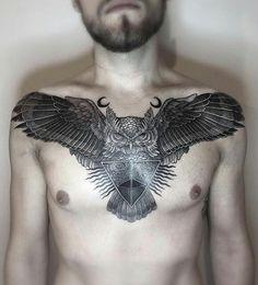 Mystic owl by Silvija Sablinskaite