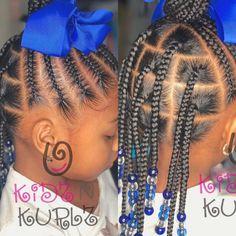 Black Baby Girl Hairstyles, Black Kids Braids Hairstyles, Little Girls Natural Hairstyles, Toddler Braided Hairstyles, African Baby Hairstyles, Kid Hairstyles, Little Girl Braid Styles, Kid Braid Styles, Little Girl Braids