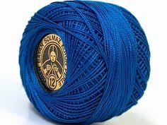 Cotton Perle 12 Dark Blue at Yarn Paradise