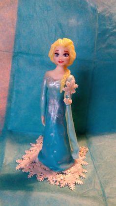 Elsa Frozen disney ceramica fredda