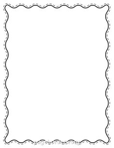 Free printable clip art borders for teachers loopy star page free black wavy border templates including printable border paper and clip art versions file formats include gif jpg pdf and png thecheapjerseys Choice Image