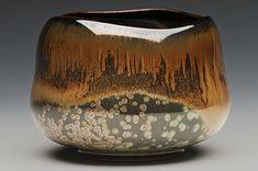 Tea Bowl: Sebastian Moh w/ nebula tenmoku - Solly Medeway Glazes For Pottery, Pottery Bowls, Ceramic Pottery, Pottery Art, Pottery Studio, Slab Pottery, Thrown Pottery, Pottery Mugs, Japanese Ceramics
