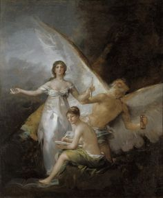Truth, Time and History | Francisco Goya Y Lucientes | Nationalmuseum, Sweden | Public Domain Marked