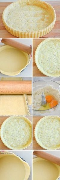 Pasta recetas faciles 29 ideas for 2019 Pie Crust Recipes, Pan Dulce, Pie Cake, Quiches, Cakes And More, Cake Cookies, Sweet Recipes, Sweet Treats, Dessert Recipes