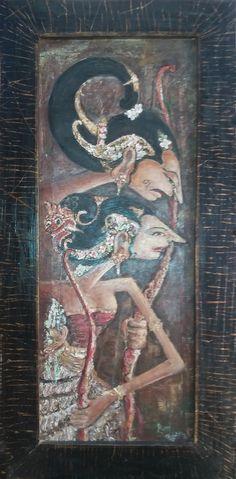 Arjuna Srikandi by surantodwisaputra.deviantart.com on @DeviantArt