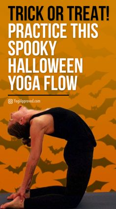 or Treat Practice This Spooky Halloween Yoga Flow to Get In the Halloween Spirit Halloween is all about costumes candy and spooky fun Get into the holiday spirit with thi. Spooky Halloween, Spirit Halloween, Healthy Halloween, Happy Halloween, Yoga Flow Sequence, Yoga Sequences, Easy Yoga Poses, Yoga Poses For Beginners, Spirit Yoga