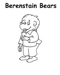 berenstain bears treehouse coloring pages - photo#23