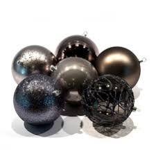 Výsledek obrázku pro černé vánoční  dekorace