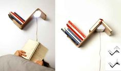 Automatic Reading Light | 24 Insanely Clever Gifts For Book Lovers