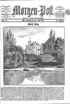 Munich and Co: La mort du Roi Louis II:  une illustration du chât...