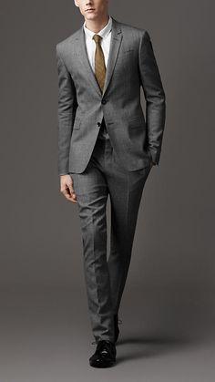 slim fit suit by Burberry | CORE Communications Inc. Houston