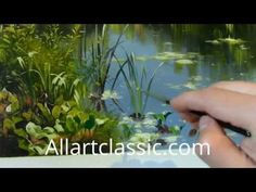 "Summer Daisies Country Acrylic Landscape Painting Demo ""Summer Daydream"" Part 2 - YouTube"