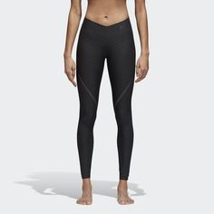 These women's body-hugging training tights are built to provide easy motion at the gym or in the great outdoors.  They're made of mesh-like Climachill that pulls heat away from your skin for cooling comfort. High compression offers muscle support while body-wrapping Alphaskin allows freedom of movement when your workout intensifies. UV protection helps guard against the sun's rays.