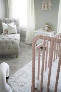 A Sensational Swan Themed Nursery By Rachel Elizabeth Creates