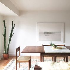 Inspiring Modern Dining Room Design Ideas – Decorating Ideas - Home Decor Ideas and Tips Sweet Home, Style Deco, Decoration Inspiration, Dining Room Design, Dining Rooms, Kitchen Dining, Ikea Dining, Condo Kitchen, Room Kitchen