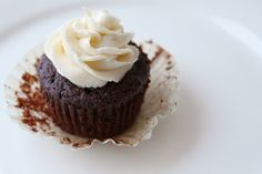 Delicious! Topped them with chocolate ganache and coconut filling to make it into German chocolate cupcakes