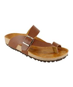 This Brown Buckle RCA Sandal is perfect! #zulilyfinds