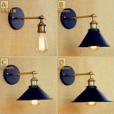Antique Rustic Edison Vintage Wall Light Fixtures Wandlampen Style Loft Industrial Wall Lamp Sconce Lampara Pared Arandela