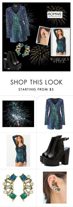 """""""Romwe 2/10"""" by smajicelma ❤ liked on Polyvore featuring men's fashion and menswear"""