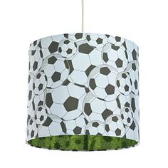 Colours Black & white Football Light shade - B&Q for all your home and garden supplies and advice on all the latest DIY trends
