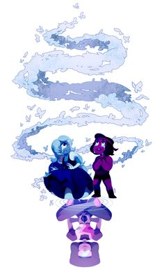 Here comes a thought, Garnet, Ruby and Sapphire