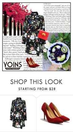 """""""Yoins 19"""" by mary-turic ❤ liked on Polyvore featuring yoins"""